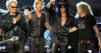 Guns n Roses on tour