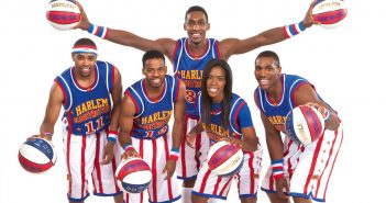 Harlem Globetrotters on tour