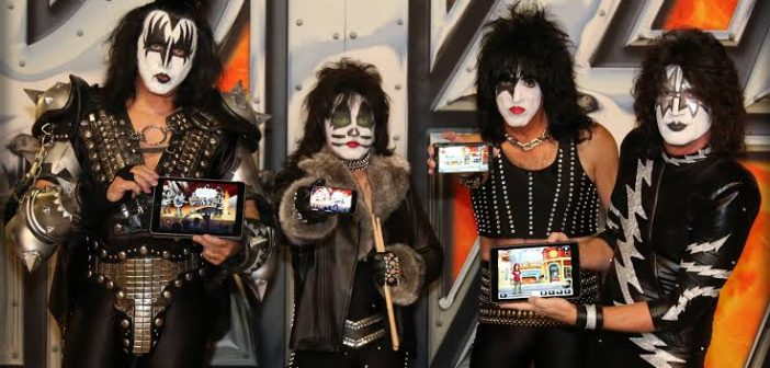 kiss on tour
