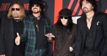 Motley Crue on tour