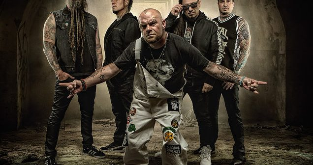 five finger death punch on tour ticket crusader. Black Bedroom Furniture Sets. Home Design Ideas