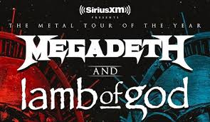 Megadeth and Lamb of God on tour